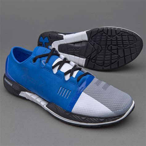 Sepatu Armour sepatu lari armour speedform ultra blue