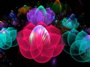 3d Flower Pictures - 3d bubble flower garden by wolfepaw on deviantart