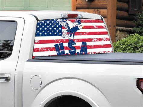 Window Decals Usa by Usa Flag Window Decal Satu Sticker