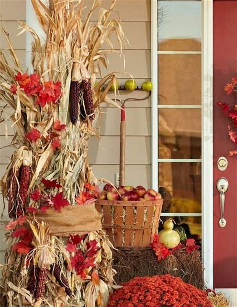 where to buy corn stalks for decorating 18 dried corn projects for fall decorating a well