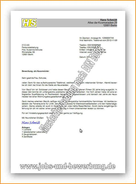 6 din 5008 bewerbung questionnaire templated
