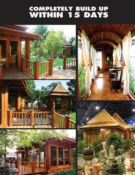 thai style house designs knock down system thai modern style house design