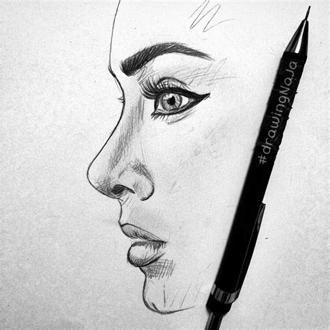 how to draw pencil drawing side pencil sketch side sketches pencil pictures