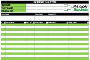 basketball roster template basketball roster template basketball team roster