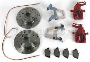 Fiat 600 Parts Mr Fiat Fiat 600 13 Quot Rear Disc Brake Kit New