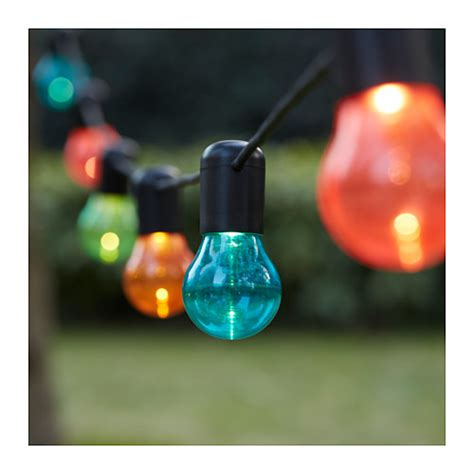 Solvinden Led Light Chain With 12 Lights Ikea Led Lights Ikea