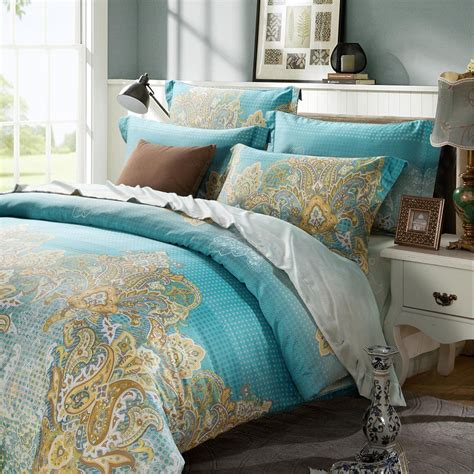 Yellow And Blue Bedding Sets Yellow And Blue Bedding Sets Blue And Yellow Bedding Sets Home Furniture Design Geometric