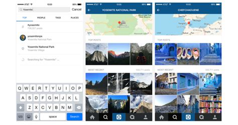 Instagram Search Users By Email Instagram Now Lets You Search By Location And More