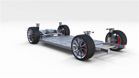 Tesla Chassis Tesla Model 3 Chassis By Dragosburian 3docean