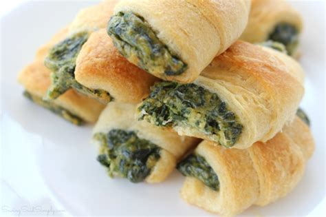 appetizers crescent roll crescent roll appetizers spinach