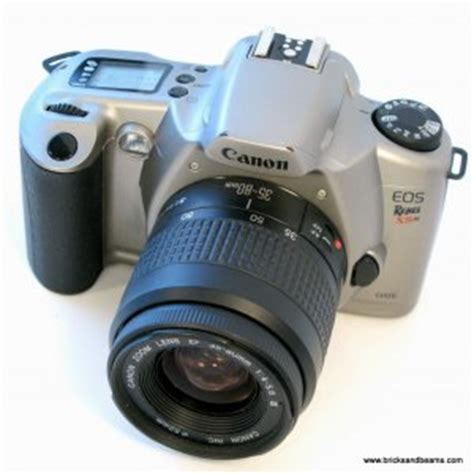 canon eos rebel xsn 35mm slr film camera with ef 35 80mm lens