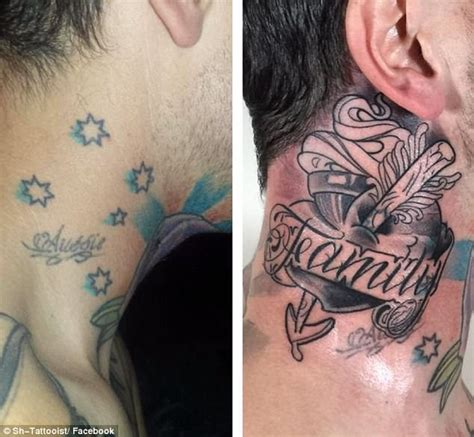 cross tattoo racist southern cross tattoos covered up due to racist stigma