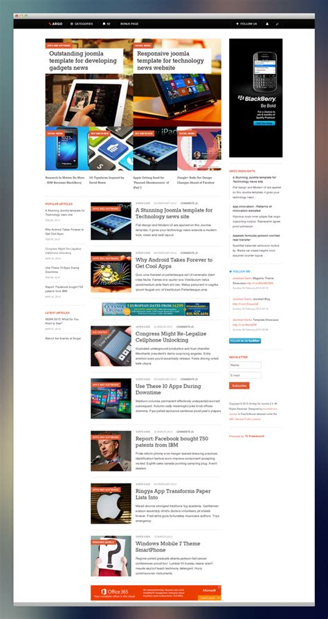 News Section Website Design 28 Images News Section