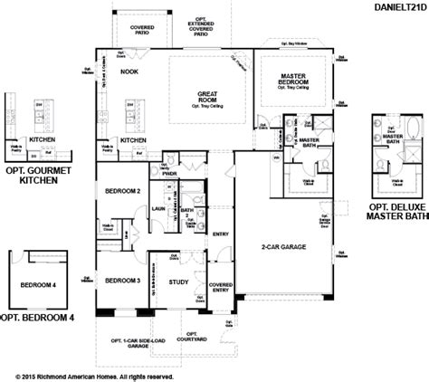 richmond floor plan home design