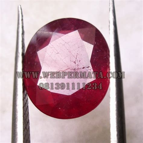 Batu Permata Ruby Memo 2 batu permata ruby asli batu akik