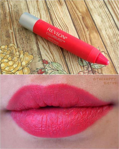 Lipstik Revlon Crayon revlon colorburst matte balm in quot unapologetic quot swatches review revlon