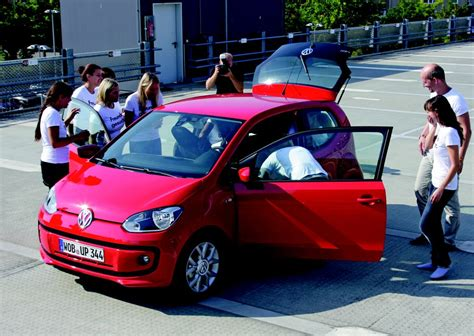 volkswagen smallest car volkswagen up load the small car is large indeed