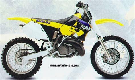 Suzuki Rm 250 1998 Suzuki Rm 250 Tutti Gli Anni Di Produzione