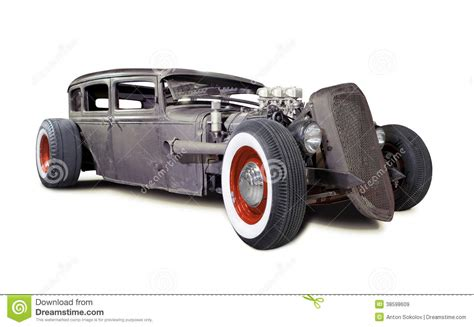 rusty car white background old rusty rat rod stock image image of retro vehicle