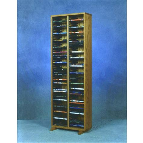 dvd racks wood shed solid oak dvd storage rack various finishes 210 4dvd