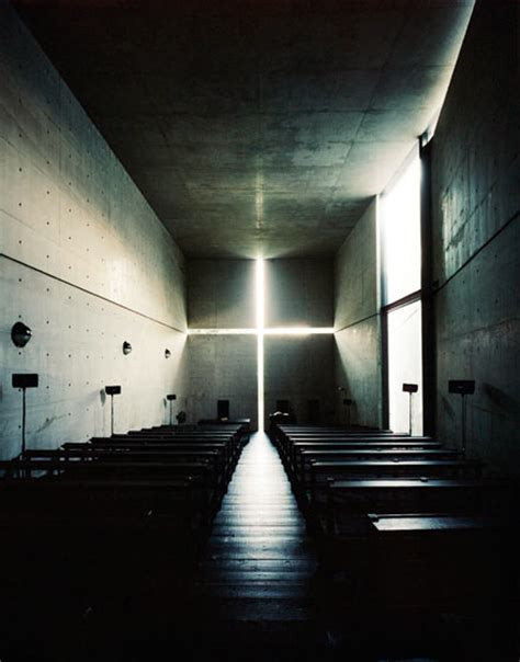 Light In Japanese by Church Of Light By Tadao Ando