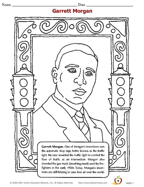 garret coloring page color book
