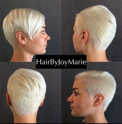 shaved hairstyles with long bangs 33 cool short pixie haircuts for 2018 pretty designs