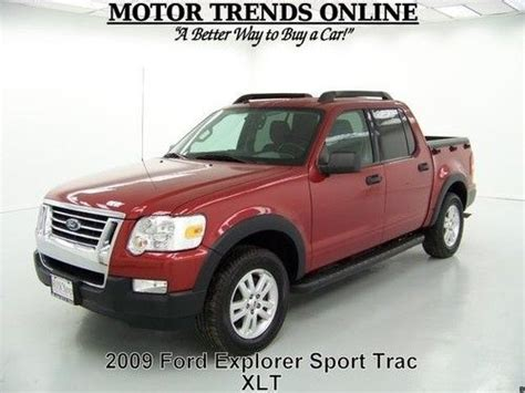 find used 2009 ford explorer sport trac xlt crew media