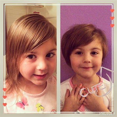 baby haircuts before and after toddler haircut pixie cut before and after emma
