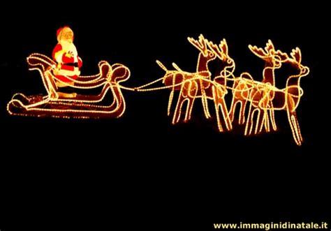 Renne Di Babbo Natale Luminose by Immagini Di Natale Foto Babbo Natale E Renne