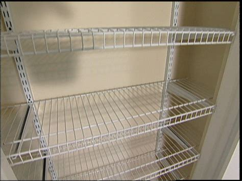 install rubbermaid wire shelving wire closet shelving corner