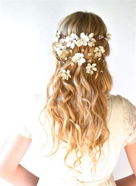 how to create a flower wreath hair piece my view on fashinating bridal crown flower head wreath wedding hair accessory