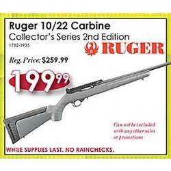 target black friday store hours 2017 ruger 10 22 carbine collectors series 2nd edition at rural