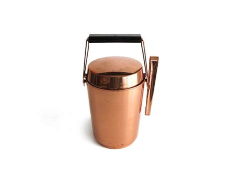 classic barware vintage alfi copper ice bucket classic barware western germany ice ice