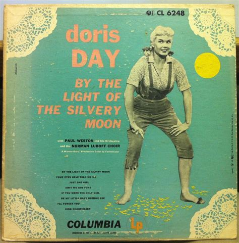 By The Light Of The Silvery Moon by Doris Day By The Light Of The Silvery Moon 10 Quot Vg Cl 6248