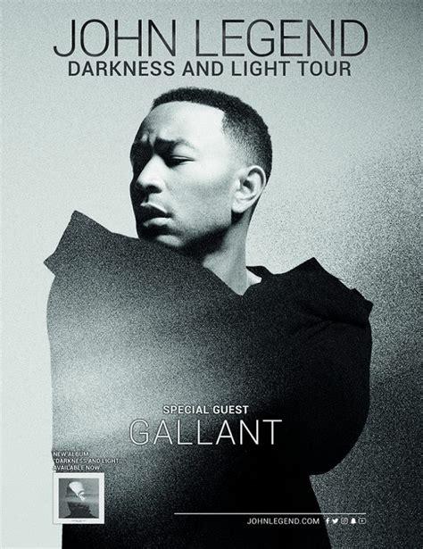 darkness and light tour john legend darkness and light tour