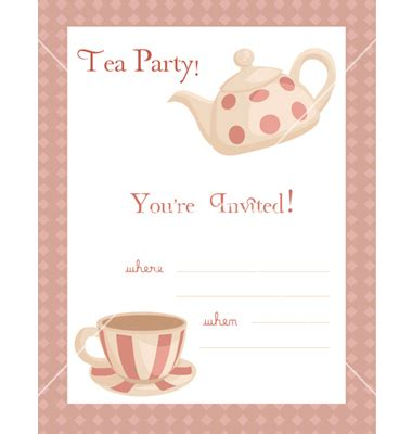 tea card template customize free afternoon tea invitation template orderecigsjuice info