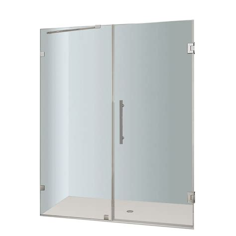 Frameless Swing Shower Door Sd25ps Sd25ps In Canada Shower Doors Canada