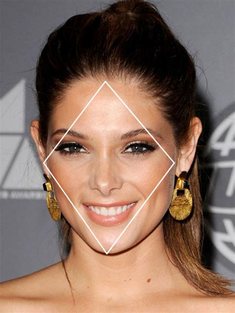 diamond face a line the best and worst bangs for diamond faces beautyeditor