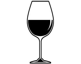 christmas wine glass svg wineglass etsy studio