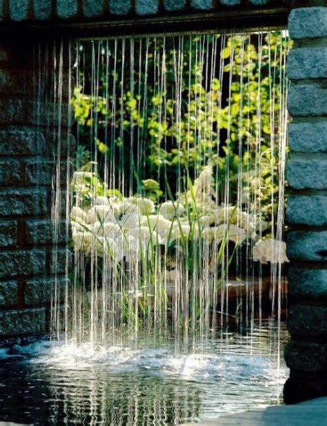 Rain Curtain Water Features Botanica