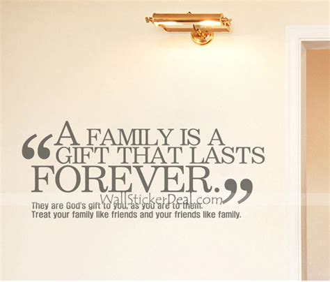 What Is A Family Gift For - what is family quotes wall sticekrs wallstickerdeal