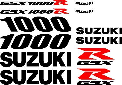 Suzuki Gsxr 1000 Decals Image Gallery Gsxr Decals