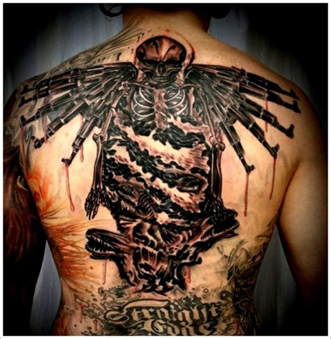 bad angel tattoo designs 35 bad evil designs