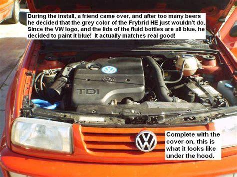 Convert Vw Diesel To Run On Straight Vegetable Oil