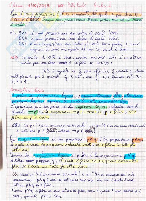 test analisi 1 analisi matematica 1 appunti e quiz