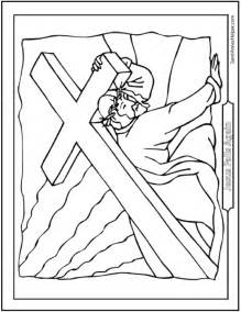 lent coloring pages lent pretzel coloring page