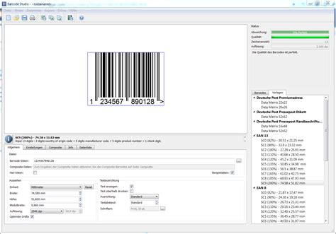 barcode template identifying objects by tec it new barcode maker