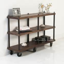 Reclaimed Wood Credenza Rustic Apartment Bookshelves Bookshelves That Double As