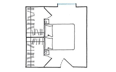 cabina armadio dietro il letto 1000 idee su design da armadio su stanza